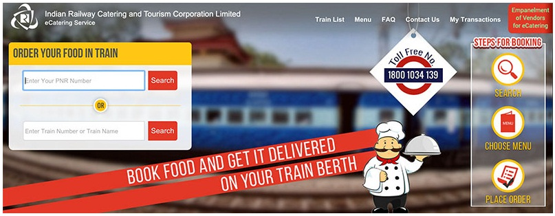 IRCTC-E-catering-service