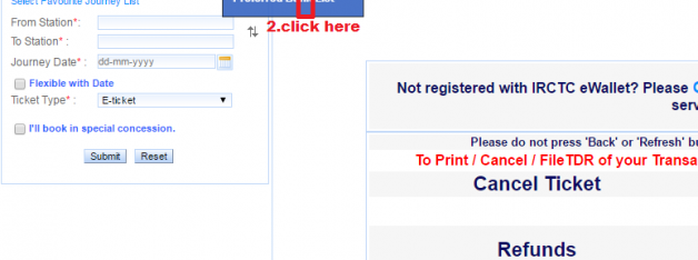 How do I remove or change mobile number from Irctc account