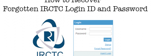 How to Reset IRCTC Username and Password